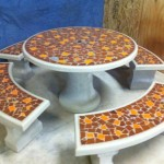 Tiles Concrete Table